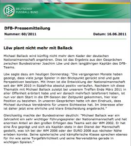 DFB-Pressemitteilung-Michael Ballack