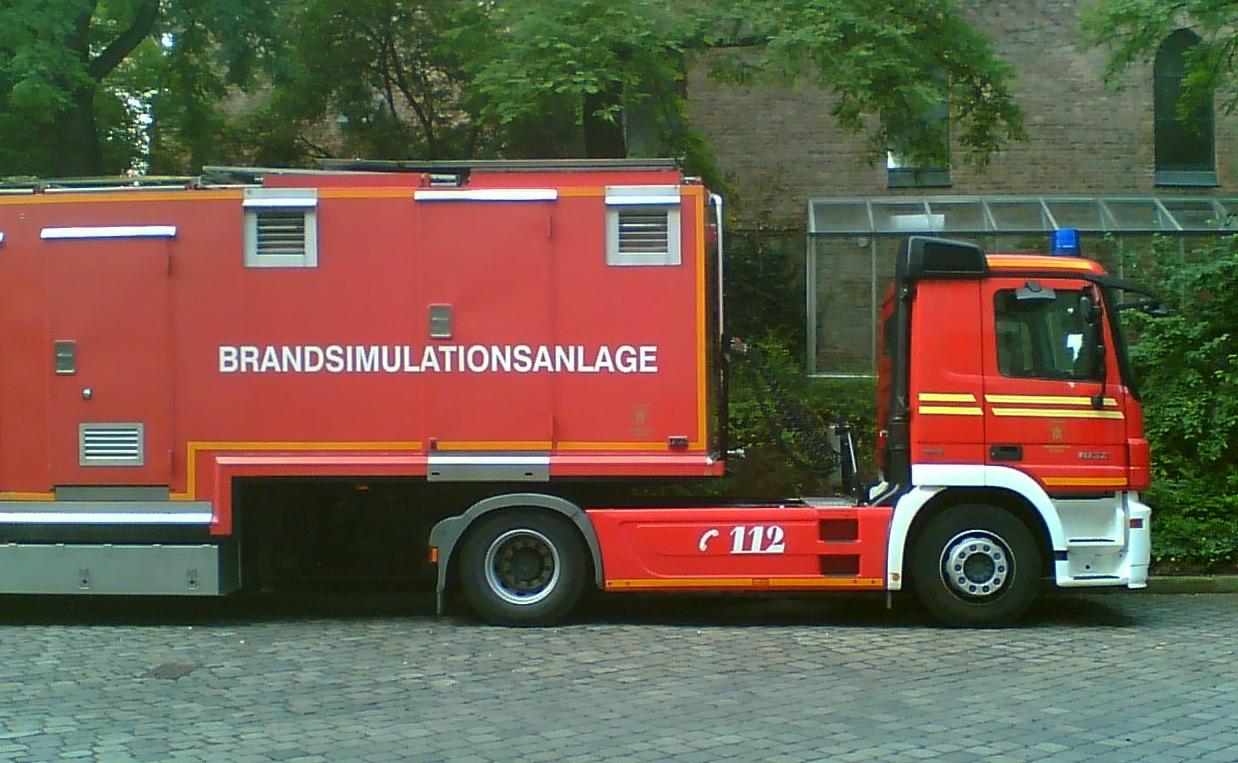 Brandsimulationsanlage-Bindestrich