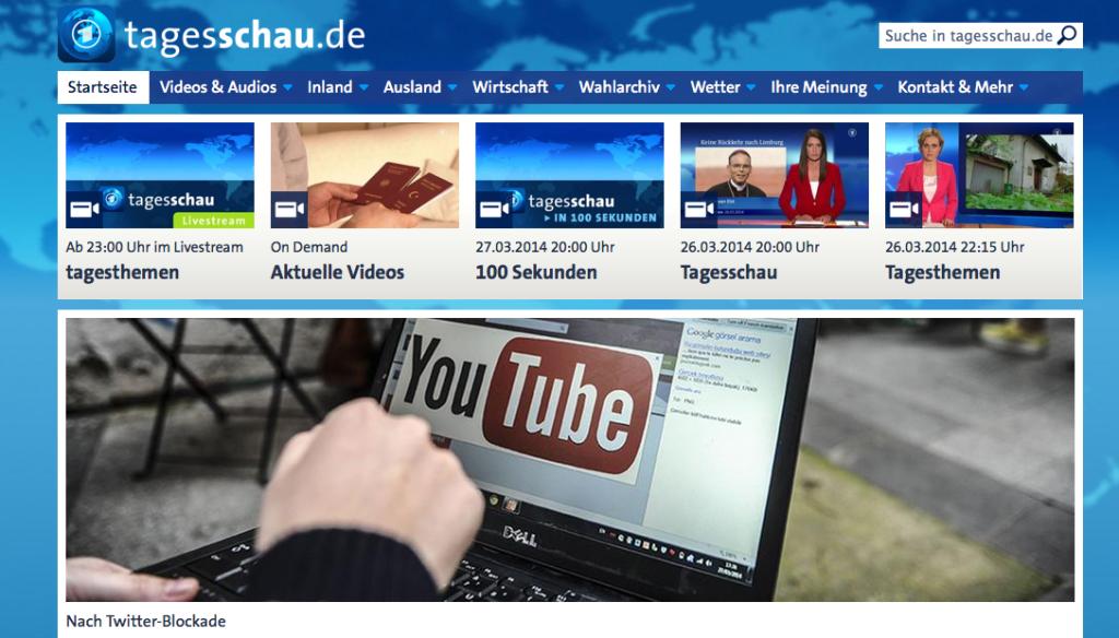 Tagesschau groß oder klein? Neue deutsche Verwirrung.