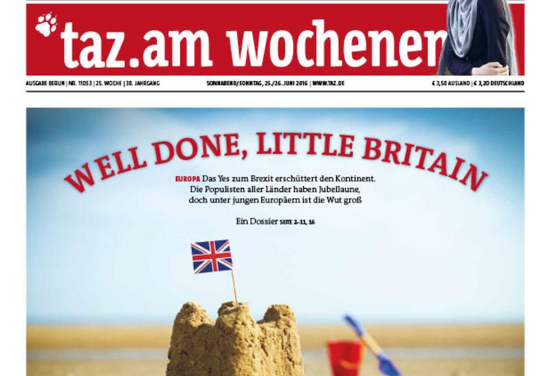 Schlagzeile Little Britain (Screenshot): Herablassend und überheblich