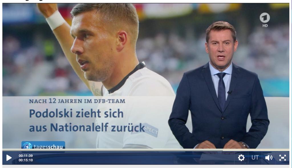 Lukas Podolski tritt zurück