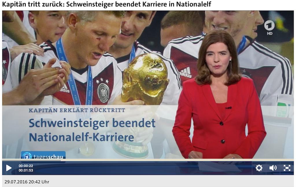 Bastian Schweinsteiger tritt zurück