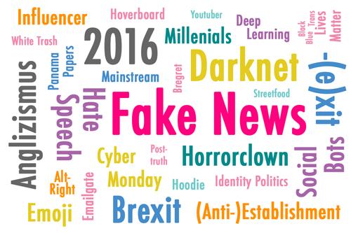Fake News: Anglizismus des Jahres 2016
