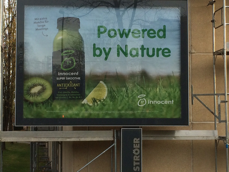 Powered by Nature Slogan