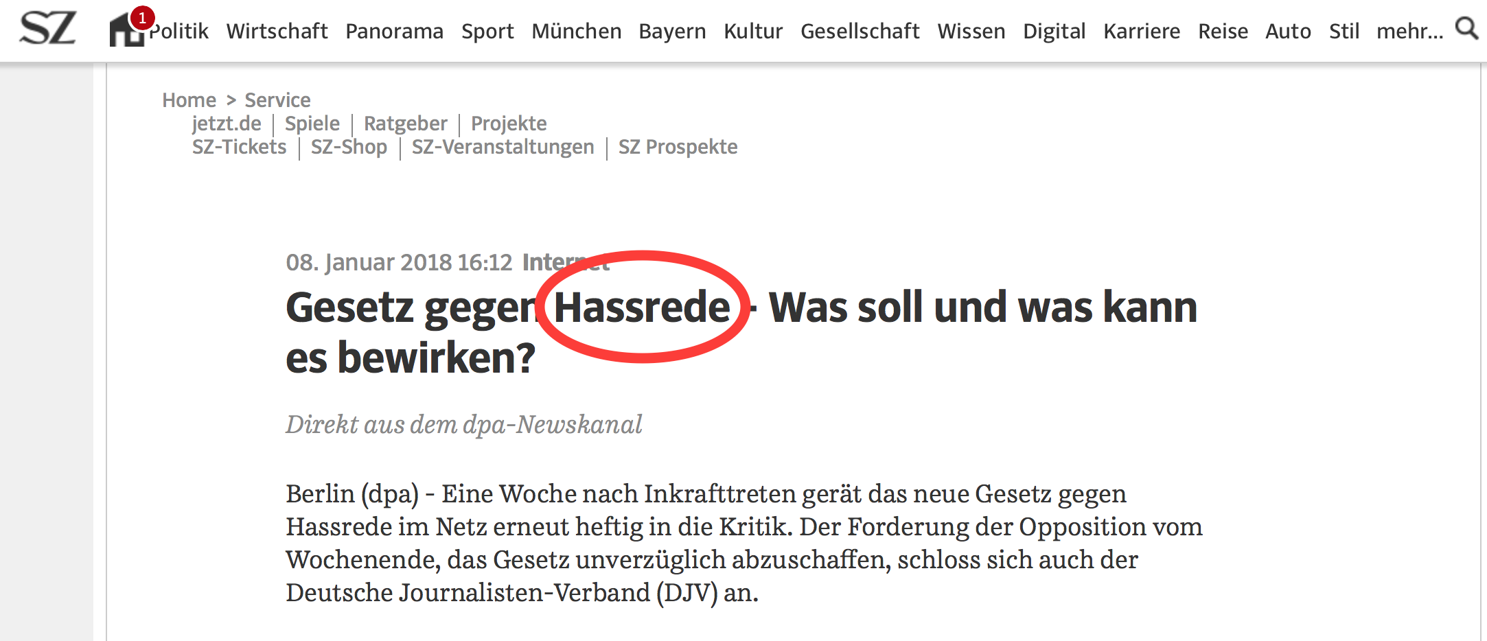 Was ist Hassrede? - better media - The Quality Content Company