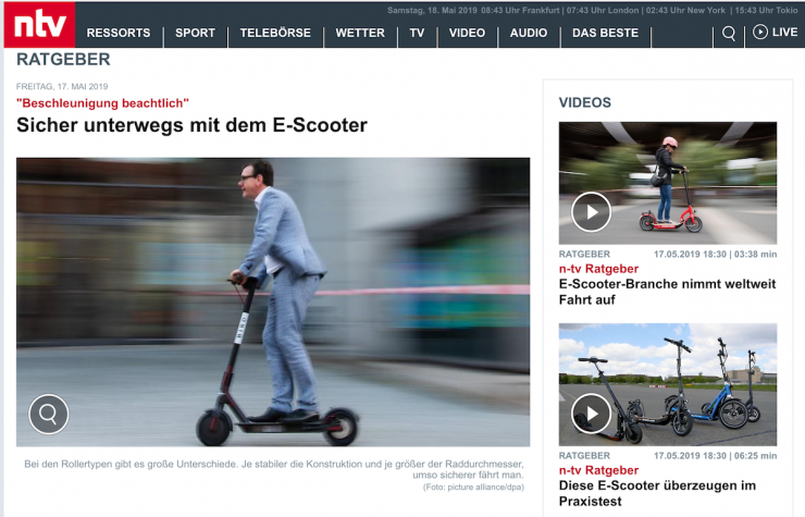 E-Scooter sind auf dem Vormarsch. Doch wie werden wir sie nennen?