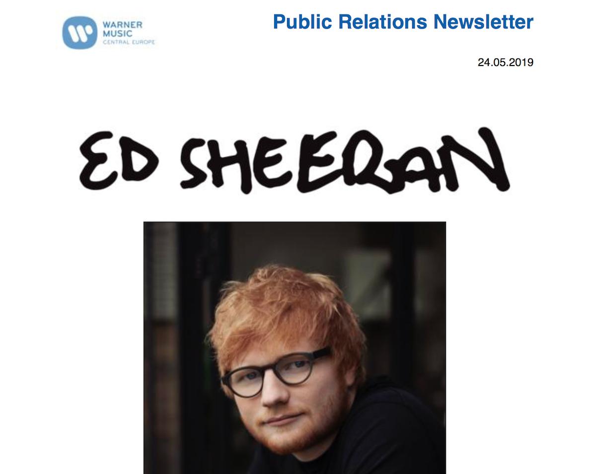Kollaboration ist der Titel von Sheerans neuem Album