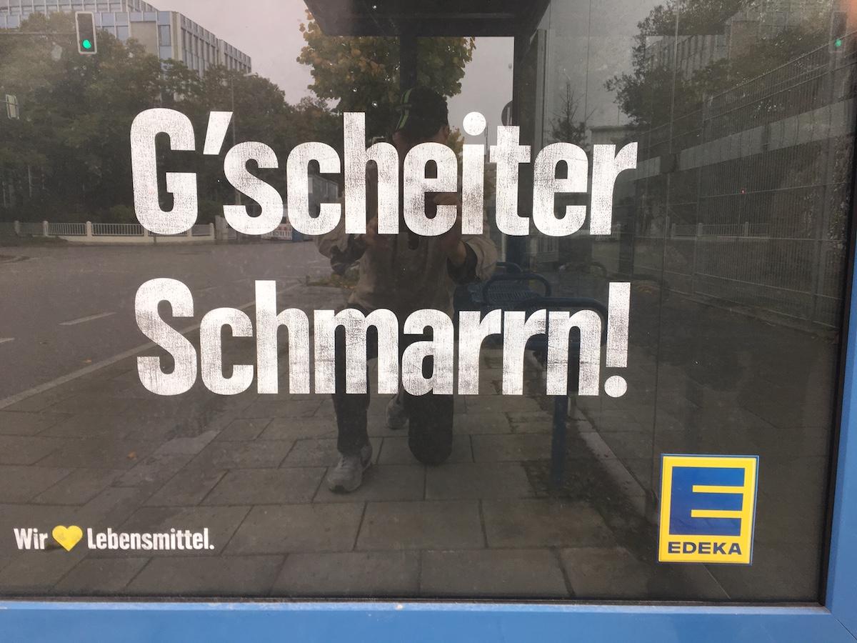 Oxymoron in der Werbung - das ist paradox.