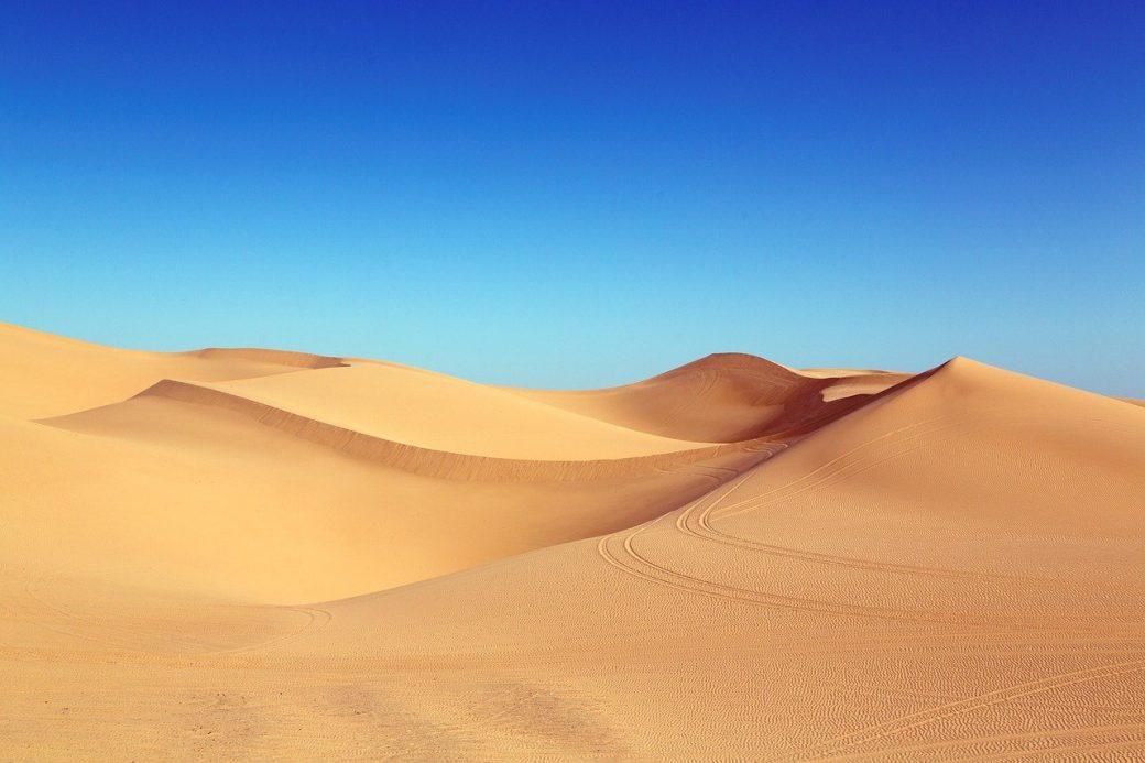 Die Wüste ist eine Umgebung, in der man sich lost fühlen kann.